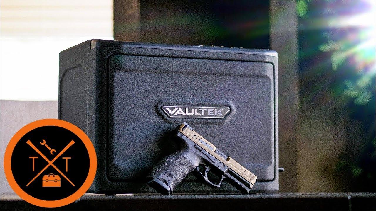 GUN SAFE REVIEW: Mini Fridge For Your Gat?? // Vaultek PRO MXi