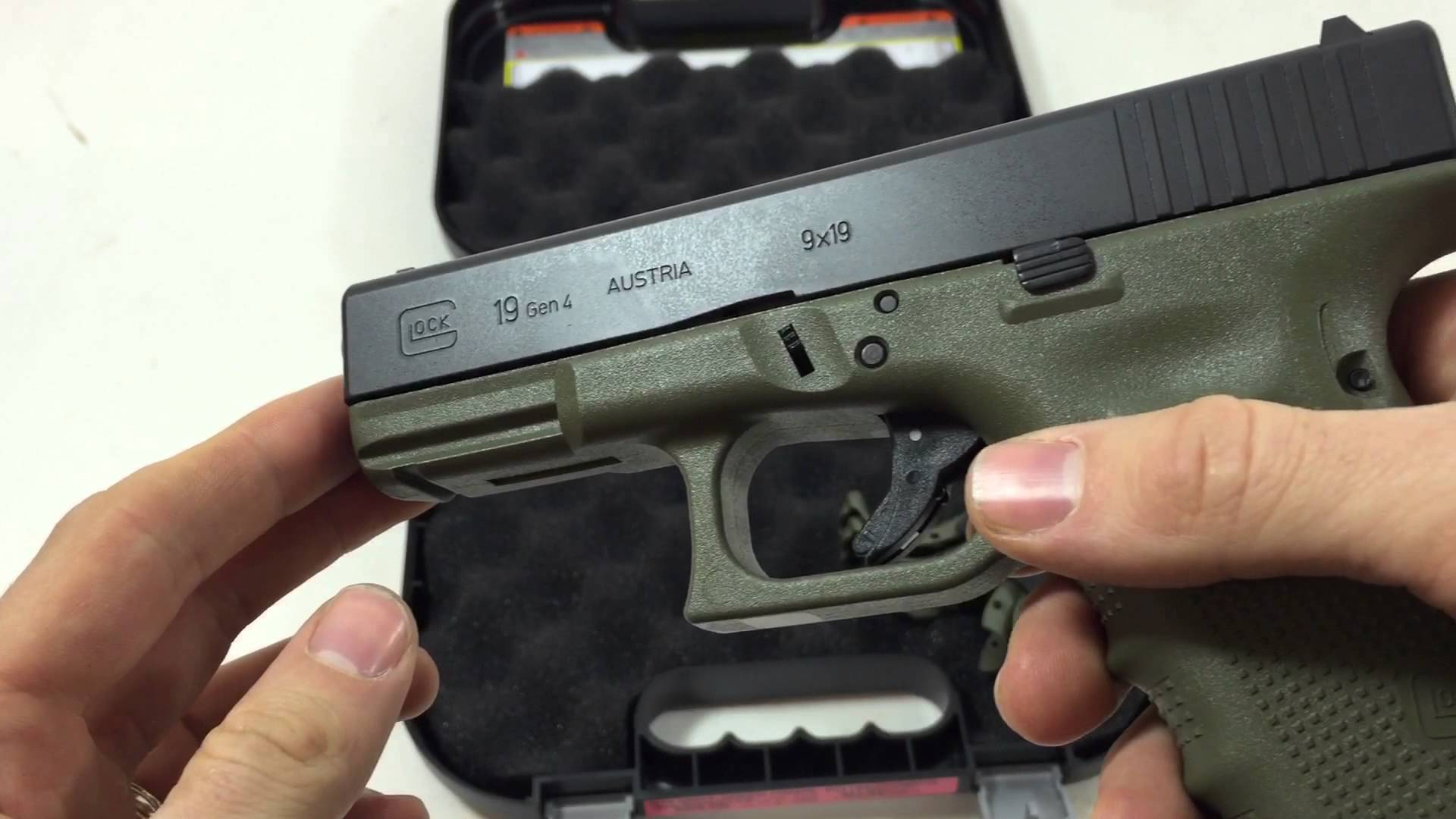 New Battlefield Green Glock 19 Gen 4 G19 #Quicklook