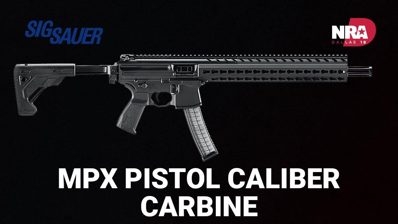 MPX Pistol Caliber Carbine - Sig Sauer