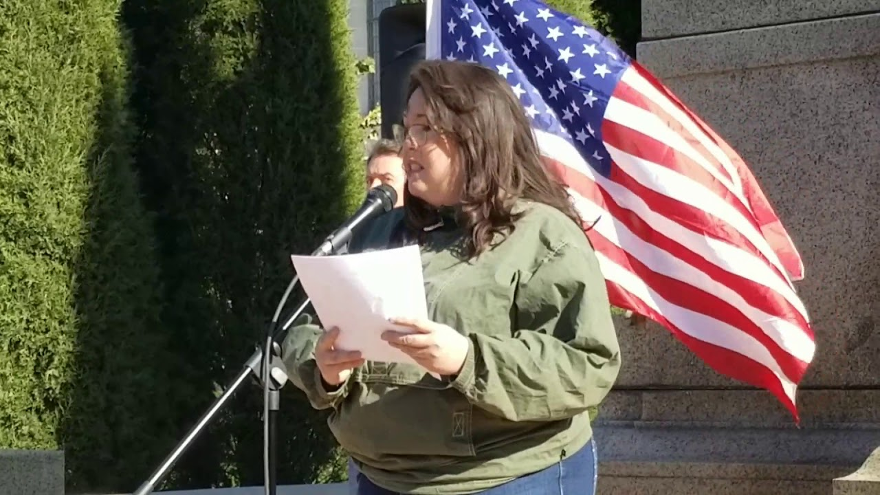 Nebraska 2A Capitol Rally NFOA President Patricia Harrold Welcome and Opening Thoughts