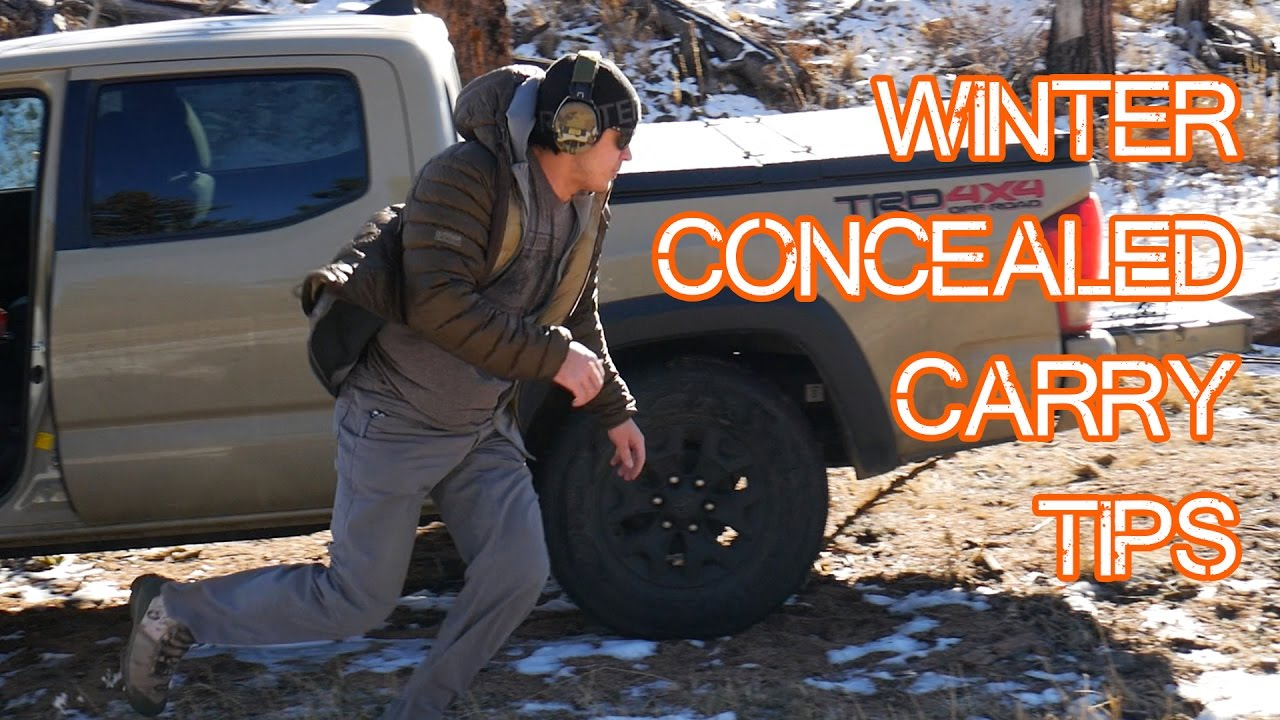 Winter Concealed Carry Tips - Practice in what you wear