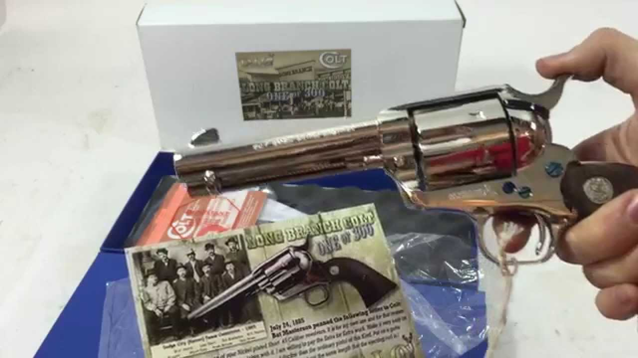 Colt Single Sction Army Revolver The Long Branch Talo Limited Edition