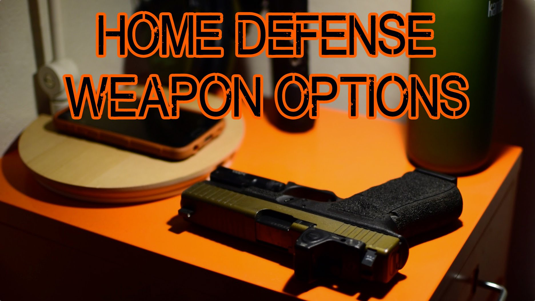 Choosing a Weapon for Home Defense - Pistol, Shotgun, or AR-15