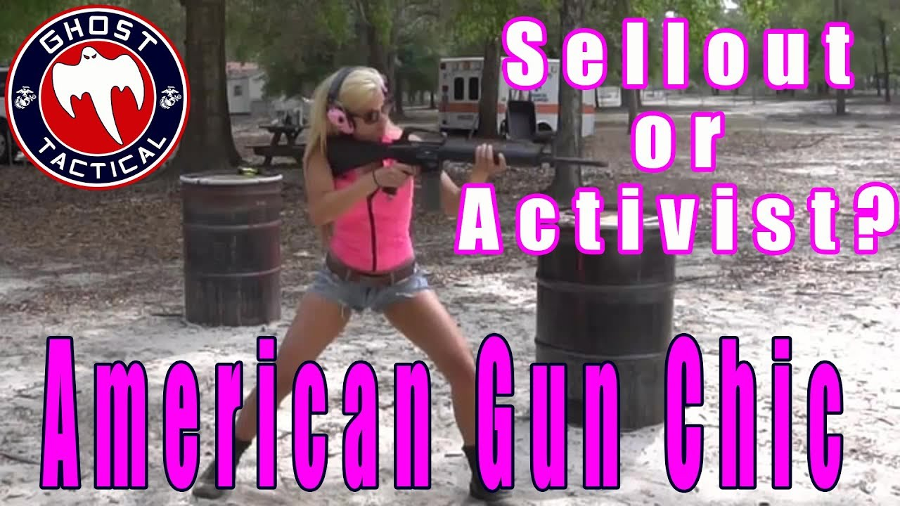 American Gun Chic:  Sellout or Activist?  I'm Calling You Out!:   It's Rant Time!!!!