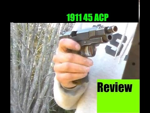 1911 Pistol 45 ACP Review by JSD Arms Lighter than my 9mm, and high cap!?