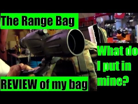 Tactical Range Bag Essentials and setup. The contents of my bag. By JSD Arms