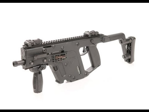 Kriss Vector .45ACP SBR Overview and Shooting Demonstration with Suppressor