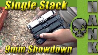Single Stack 9mm Pistol Showdown