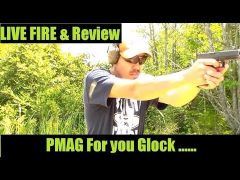 PMag 17 For Glock 17 Pistol by Magpul LIVE FIRE and Verbal Review