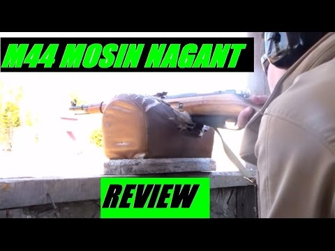 Soviet Russian M44 Mosin Nagant World War II Bolt action Rifle Review 7.62x54 JSD Arms