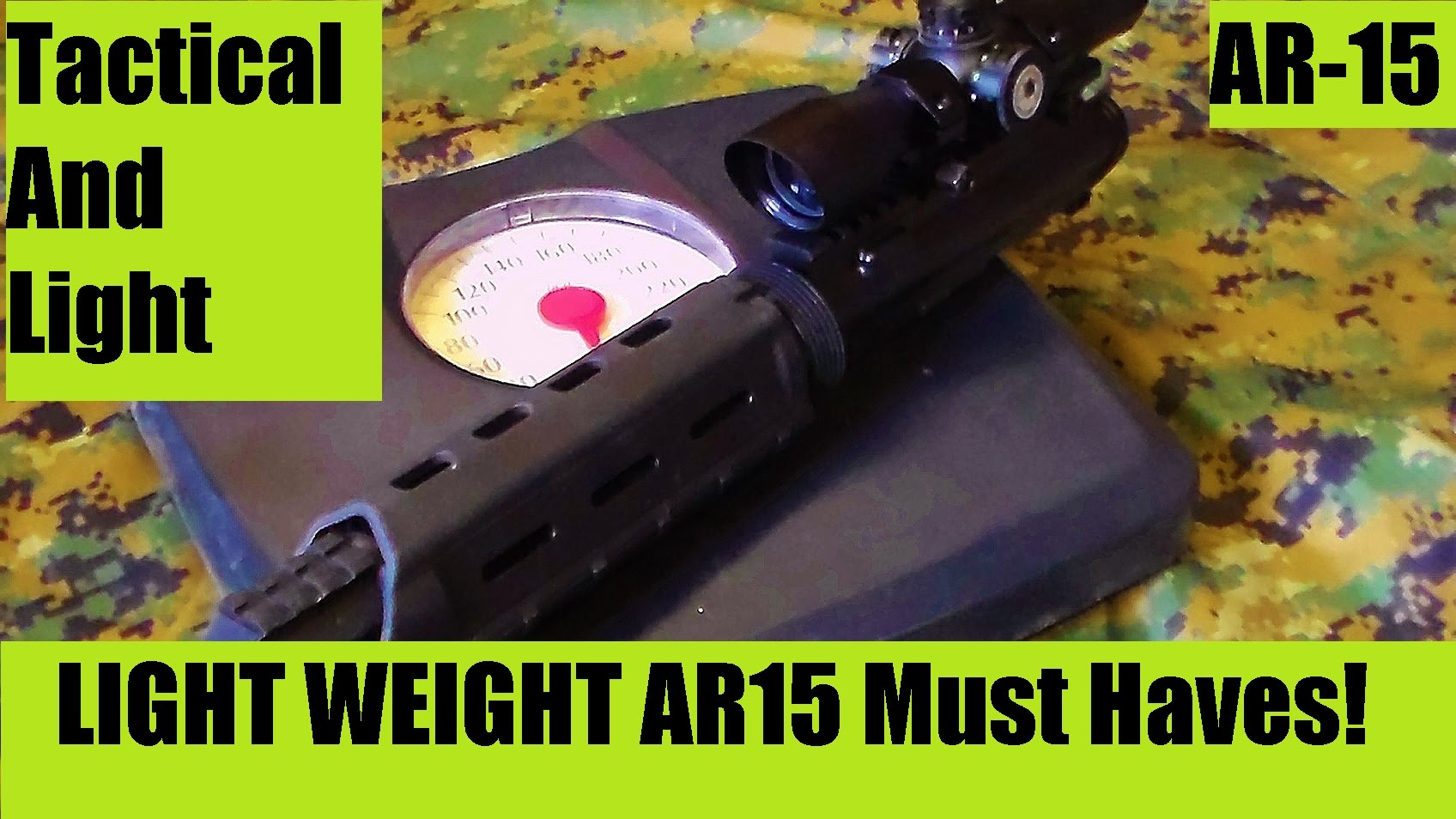 Light Weight Ar 15 Recomendations