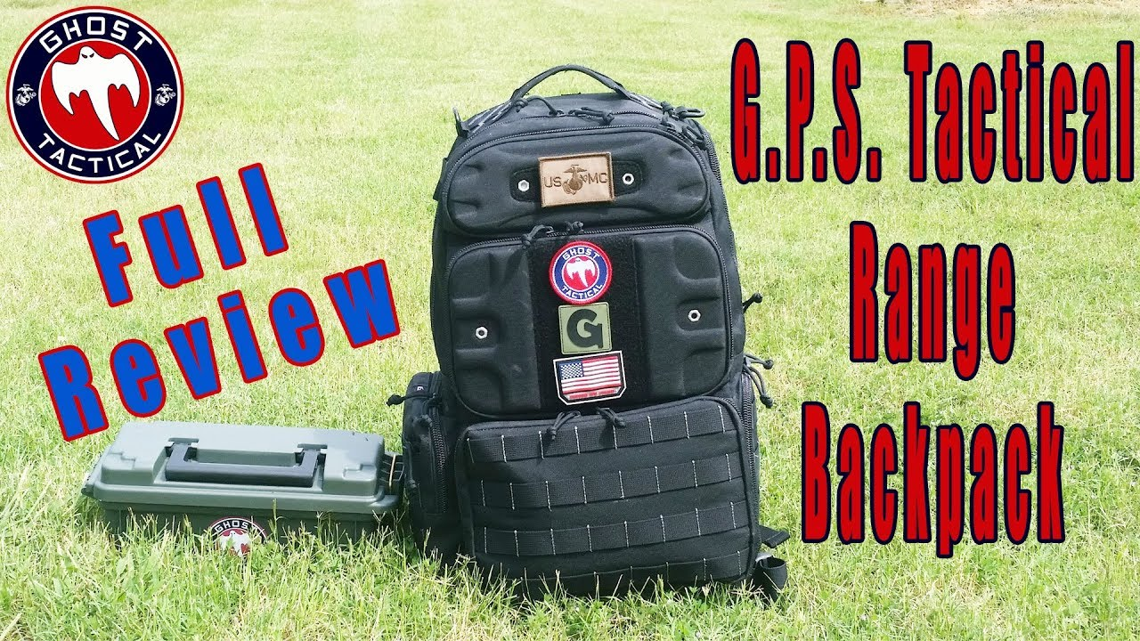 G.P.S Tactical Range Backpack:  The Last Range Bag You Will Buy:  Full Review 2018