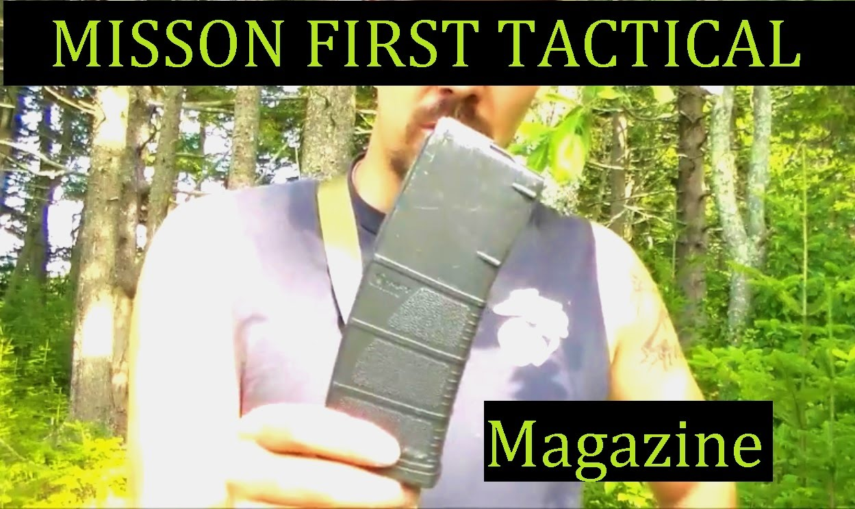 Mission First Tactical AR15 Magazine Review The MFT Mag