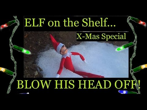 Elf on the Shelf Gets SHOT in the Head! Christmas Special - POGMarineFPS 2017