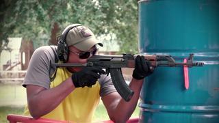 Midwest Industries Two Chamber Muzzle Brake AK-47 Rifle