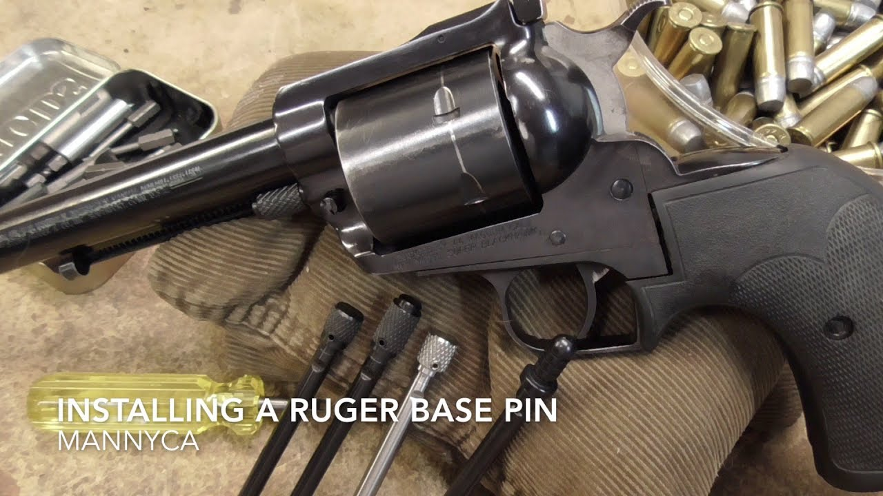 Ruger Single Action Revolver Cylinder Pin - Quick Tips