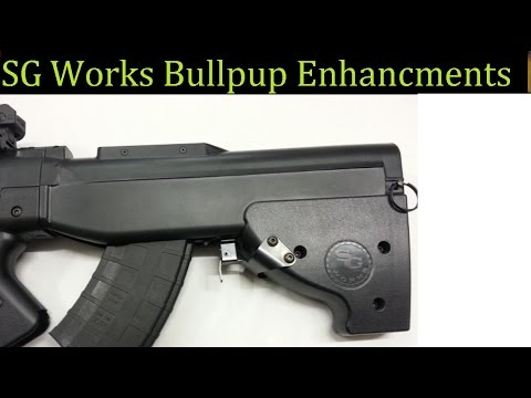 Enhance The SG Works SKS Bullpup - Problem Solved- My Modifications