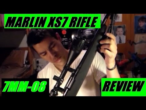 Marlin XS-7 EXTREMELY ACCURATE Bolt Action rifle 7mm-08 Live Fire Review