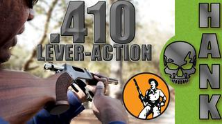 Lever Action Shotgun Henry Rifle 410 Bore