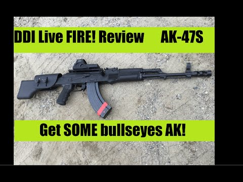 DDI AK47 LIVE Fire Range time Review   Destructive Devices Industries