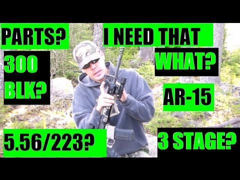 What parts to get for your AR-15 build?  by JSD Arms 5 56 223