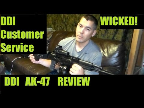 DDI Company Quality and Service Review AK47 model 47S Review Bought from ClassicFirearms.com
