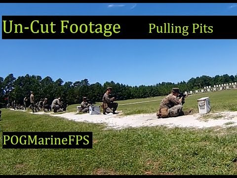 Un-Cut Footage Getting Shot At ~ Pulling Pits Marine Corps