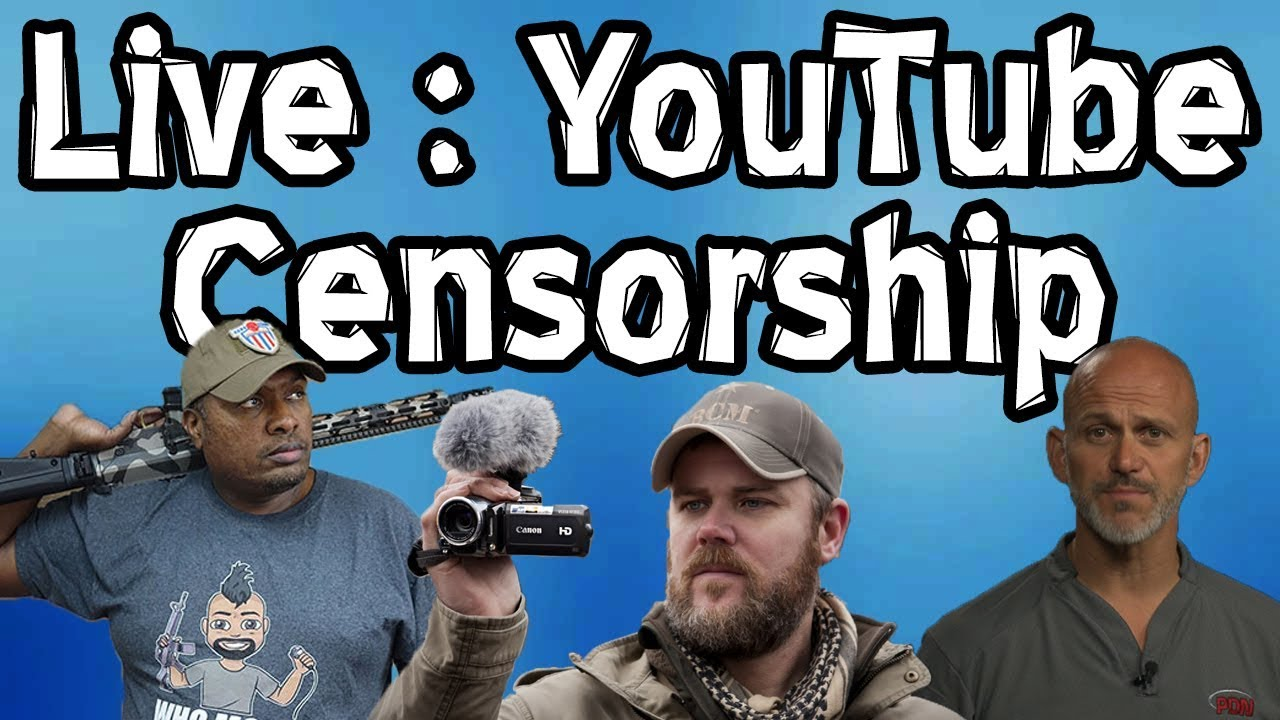LIVE | Hank Strange & Rob Pincus Speak About YouTube Censorship