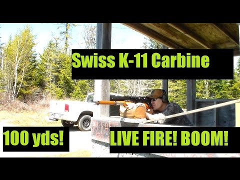 Swiss K11 Carbine Rifle Live Fire Review From Classic Firearms