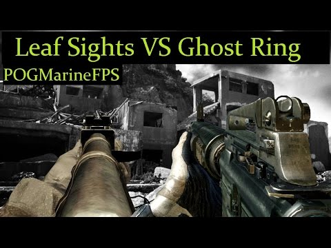 Ghost Ring VS Leaf Sights - Scientific  Facts & Opinions - The Iron Sights that worst the Best