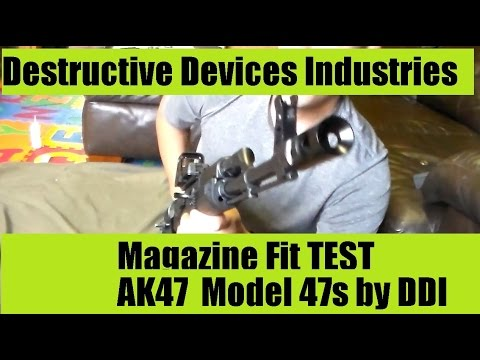DDI AK47 Magazine Fit Test Very Tight But not always just right