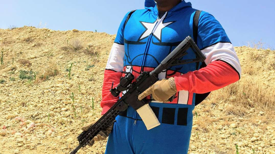 Captain America at the range 3