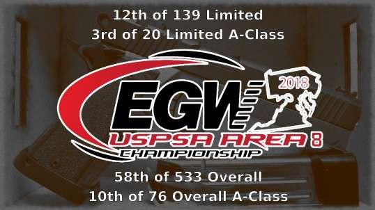 2018 EGW USPSA Area 8 Championship - Limited