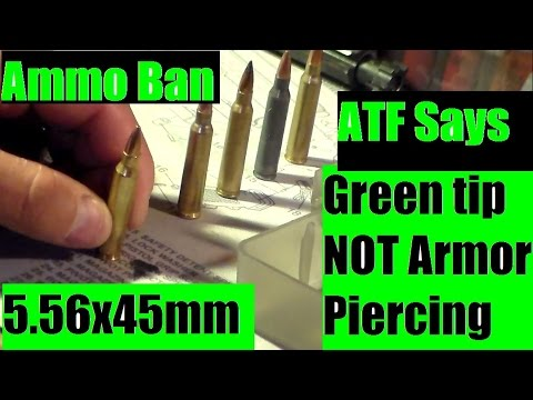 5 56x45 Green tip Ammunition NOT Armor peircing! Second Amendment rights! by JSD Arms