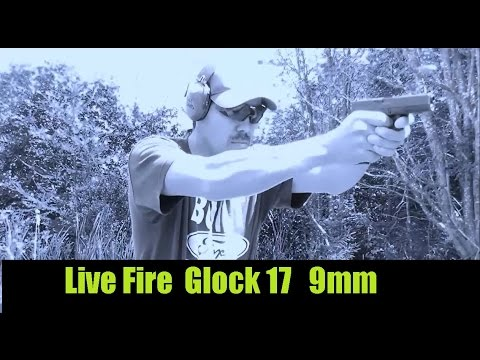 Glock 17 Live Fire At the Local Shooting Range Still at it!
