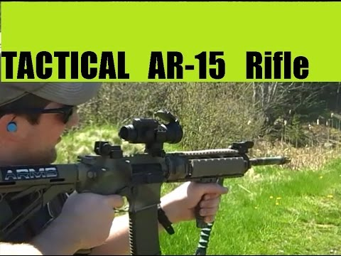 Tactical AR-15 Shoot with Corey aka Target 5.56 a flying