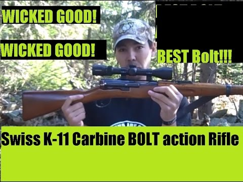 BEST Bolt Action Ever! The Swiss K11 Carbine Rifle from Classic Firearms