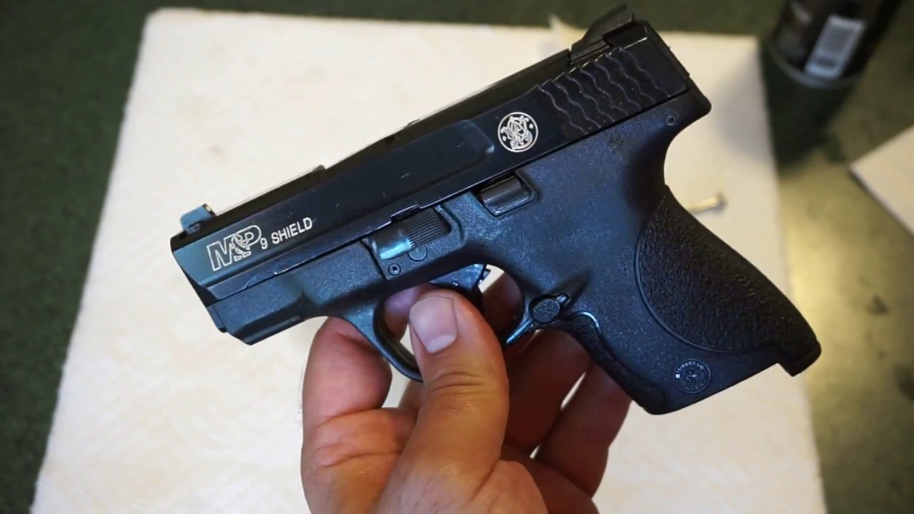 How to clean the S&W M&P Shield 9mm (1.0)