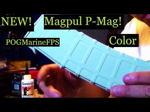 NEW Magpul P-Mag Color Custom Awesomeness