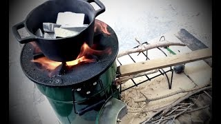 TACOPOCALYPSE Primitive Casting & Reloading Without Electricity or Propane!