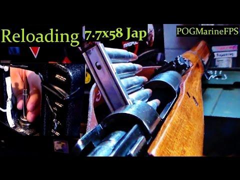 Reloading 7.7x58 JAP Ammo -Type 99 Arisaka - Japanese Surplus Bolt Action C&R Rifle