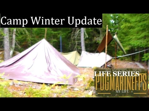 The LAST Camp UPDATE SHTF Winter BUGOUT It's OVER! Life Series to be continued