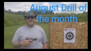 Smith and Wesson SD9VE Range day Ghost Tactical August Drill of the month.