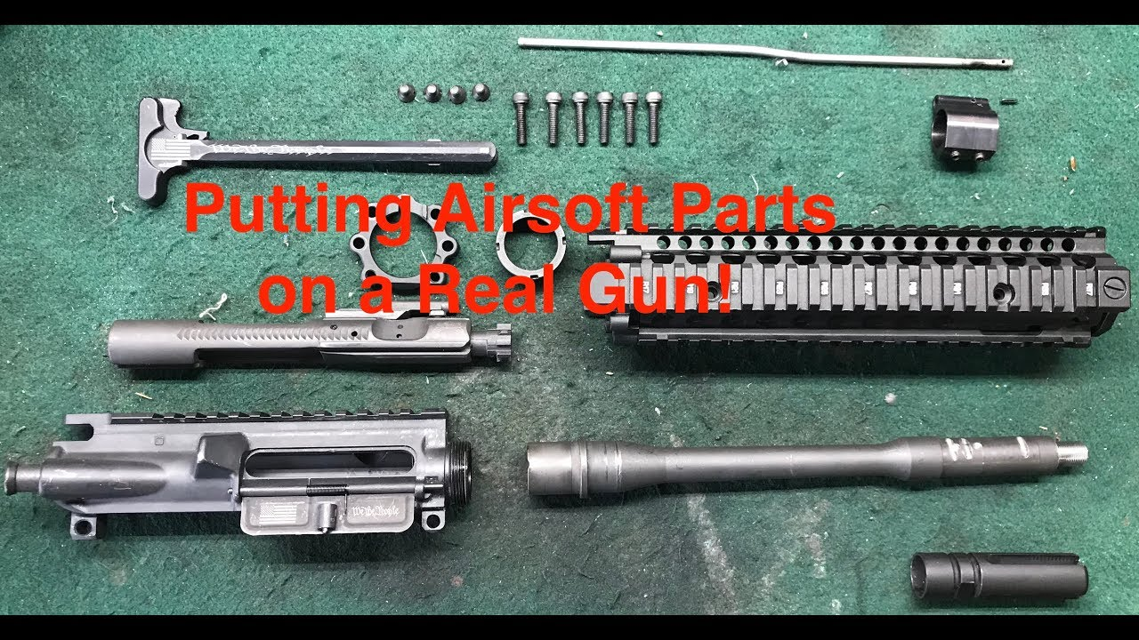 Putting Airsoft Parts on a Real Gun!