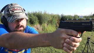 Smith & Wesson Shield 9mm range test!
