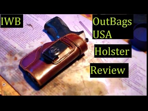 OutBags USA IWB Handgun Conceal Carry Holster Review