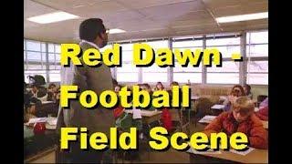 Red Dawn - Football Field / School Scene