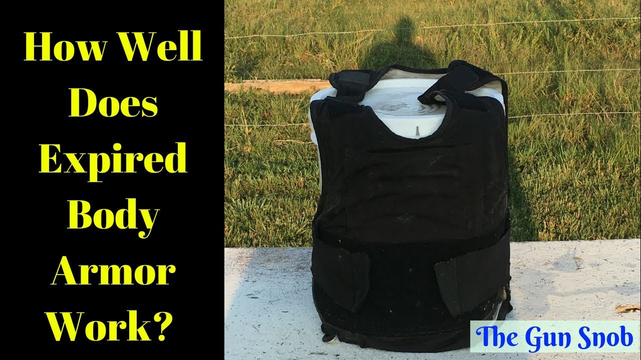 How well does an expired bullet proof vest hold up?