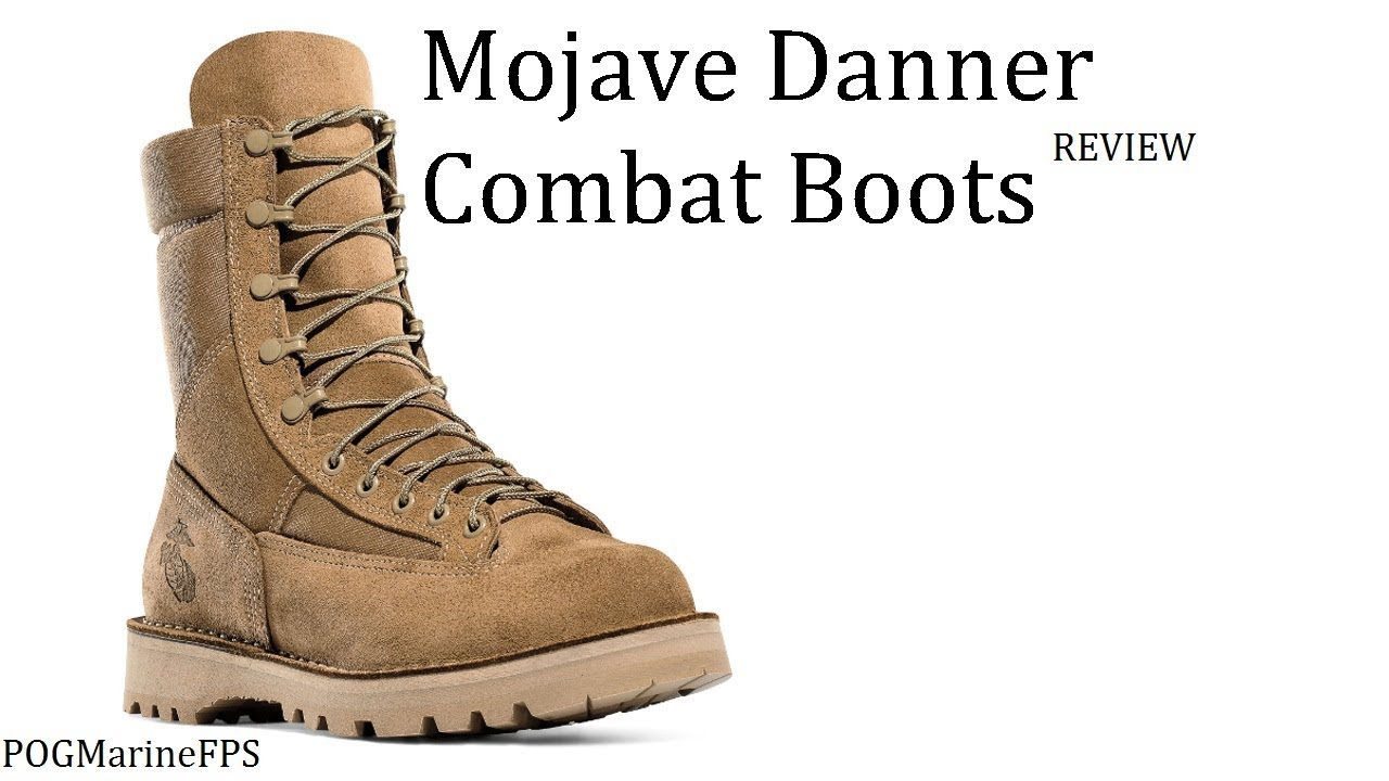 Marine Mojave Danner Military Boots ~ The Best USMC Combat boot? - REVIEW