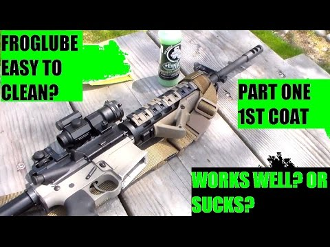 Marine Froglube bolt inspection Ar 15 Rifle PART ONE
